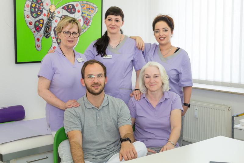 April 2019: Team Sischka; 2 Ärzte 3 Schwestern